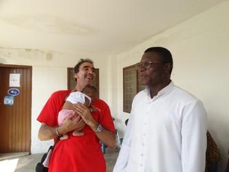 Luis primo bimbo nato nell'ospedale Dr. Ippolito Vincenzo.